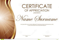 019 Certificate Of Appreciation Templates Free Download Within Simple Powerpoint Certificate Templates Free Download