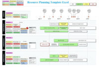 Download Resource Planning Template Excel With Project Time Management Template