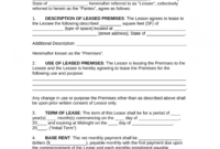 Editable Free Commercial Rental Lease Agreement Templates In Free Commercial Property Management Agreement Template