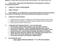 El Dorado Hills Community Council Aug 2017 Meeting Agenda Inside Safety Meeting Agenda Items