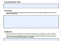 Free 8+ Training Plan Samples & Templates In Pdf | Ms Word For Professional Training Proposal Template