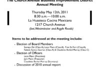 Karmabrooklyn Blog: Church Avenue Bid Annual Meeting Next For New Agenda For Church Business Meeting