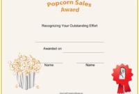 Scout Popcorn Sales Certificate Template Download Throughout Sales Certificate Template