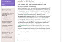 One On One Meetings   Know Your Team For 1 On 1 Meeting Agenda Template
